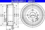 ATE - Remtrommel - 24.0220-0001.2