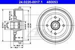 ATE - Remtrommel - 24.0220-0017.1