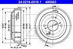 ATE - Remtrommel - 24.0218-0018.1