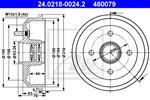ATE - Remtrommel - 24.0218-0024.2