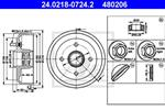 ATE - Remtrommel - 24.0218-0724.2