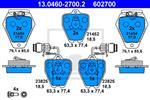 ATE - Remblokset - 13.0460-2700.2